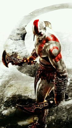 Kratos GOD OF WAR.