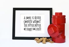 Downloadable Digital Wall Art Print Poster For Dog Lovers. Instant Printable…