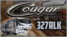 2017 Keystone Cougar 327RLK Fifth Wheel Lakeshore RV Find out more at https://lakeshore-rv.com/keystone-rv/cougar/2017-cougar-327rlk-floor-plan/?pr=true call 231.788.2040 or stop in and see one today!  Lakeshore RV  Cougar 327RLK Travel to all the wonders this great world has to offer in the comfort of the Cougar 327RLK!  Outside youll find a high gloss medallion gel coated Filon fiberglass that not only looks great its easy to keep clean!  Taking along larger cargo items is never an issue…