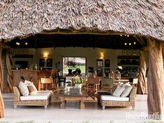 Preciosa cabaña en la selva de Kenia