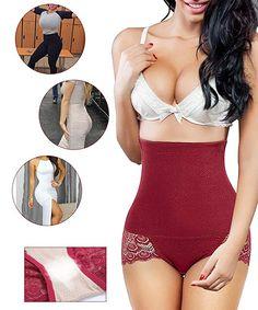 Damen Bauchweg Taillenformer Miederhose Miederslip String Tanga Unterwäsche