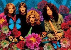 Led Zeppelin circa the 1960s.