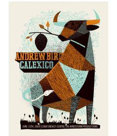 Designspiration — grain edit · modern graphic design inspiration blog + vintage graphics resource Só porque é do Andrew Bird!