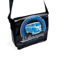 New Trending Shoulder Bags: VW Collection by BRISA VW T1 Tarpaulin Shoulder Bag Small - Black. VW Collection by BRISA VW T1 Tarpaulin Shoulder Bag Small – Black  Special Offer: $69.95  277 Reviews Tarpaulin Shoulder Bags with a vintage VW T1 Bus Print on the front. Includes padded compartment ideal for tablet-PCs. Material: Tarpaulin. Inner material: denim. Size: 28x23x7...