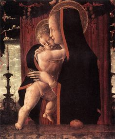 Francesco Squarcione Virgin and Child c. 1460 Staatliche Museen, Berlin