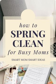Simple Spring Cleaning tips {plus Free Spring cleaning checklist and planner}. How to make a plan and get your spring cleaning done even for busy moms. Spring Cleaning Checklist, Weekly Cleaning, Cleaning Day, Deep Cleaning Tips, Diy Cleaning Products, Cleaning Hacks, Cleaning Lists, Cleaning Schedules, Speed Cleaning