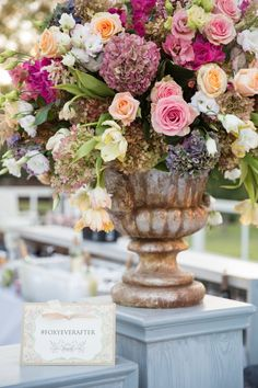 wedding centerpiece idea; photo: Thisbe Grace Photography