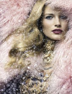 Edita Vilkeviciute by Raymond Meier is a Winter Beauty for Allure Russia December 2012 Cover Shoot Beauty Editorial, Editorial Fashion, Makeup Editorial, Raymond Meier, Edita Vilkeviciute, New Mode, Winter Beauty, Winter Makeup, Thing 1