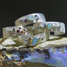 Boulder opal-Jennifer-kalled-galaxy-cuff-bracelets