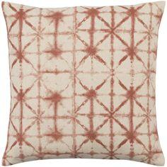 "Surya Nebula Throw Pillow Cover Size: 20"" H x 20"" W x 0.25"" D, Color: Orange\Neutral"