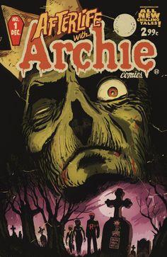 "The Francesco Francavilla cover for ""Afterlife with Archie"" No. 1. (Archie Comics) via LA Times Hero Complex"