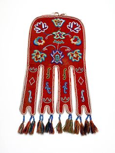 Tlingit beaded pouch - octopus bag