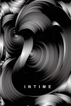 Abstract movie poster IN TIME