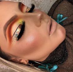 10 Dramatic Eye MakeUp Ideas For A Beautiful Bride Makeup Looks Winter, Makeup Eye Looks, Sexy Makeup, Flawless Makeup, Glam Makeup, Dramatic Eye Makeup, Beautiful Eye Makeup, Colorful Eye Makeup, Highlighter Makeup