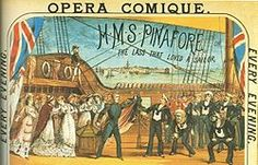 Poster illustration from original 1878 production