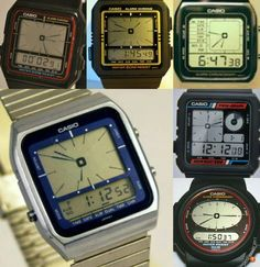 Casio AE Series Retro Watches, Vintage Watches, Cool Watches, Watches For Men, Casio Vintage Watch, Casio Watch, Nerd Chic, Field Watches, Bowling Bags