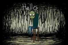 Salad Fingers - creepy and fun