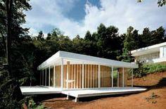 La maison de thé ci-dessous a été crée à Londres en 2008.  #architecture #shigeruban Pinned by www.modlar.com