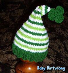 READY TO SHIP St. Patrick's Day Stocking Cap by babybinturong, $22.00