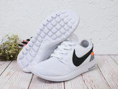 on sale 60e9d 0ba70 Spring Summer 2018 Really Cheap Nike Roshe One X Off White London s White  Black Grey Shoe