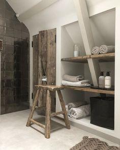 13 Tips to Make Your Bathroom Sparkle . Cosy Bathroom, Bathroom Renos, Laundry In Bathroom, Modern Interior, Home Interior Design, Dove House, Tadelakt, Attic Spaces, House Rooms