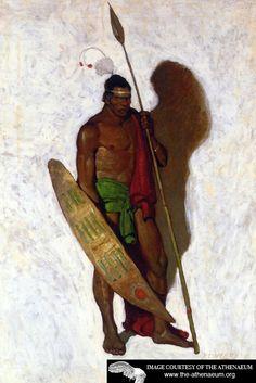 African Warrior by NC Wyeth