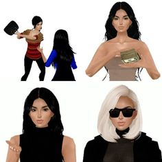Omg!! How amazing are these new KIMOJIs?! The new animated versions are available now on iOS and Android!! These are hilarious, @kimkardashian!!! #kimoji