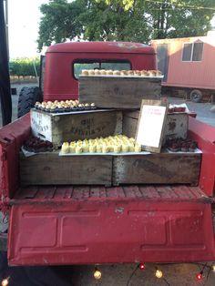 Truck dessert display