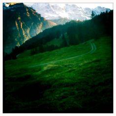 Winding road through the Alps via InstatogAroundTheWorld.com