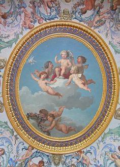 Chateau de Vaux le Vicomte | Ceiling detail