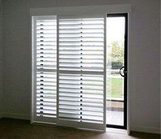 Modernize Your Sliding Glass Door With Sliding Plantation Shutters