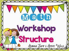 Mrs Jump's class: Math Workshop 15 pgs. of FREEBIES