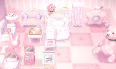 ✿ Animal Crossing New Leaf ✿ — mayorchibi: ↳ ☆ mayor chibi's house ☆ (before) Animal Crossing 3ds, Animal Crossing Qr Codes Clothes, Animal Crossing Pocket Camp, Chibi, Sanrio, Deco Gamer, Leaf Animals, Motif Acnl, Ac New Leaf
