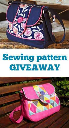 Poppy bag sewing pattern giveaway