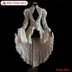 Victorian Fashion, Vintage Fashion, Victorian Outfits, Victorian Lace, Mode Geek, Kleidung Design, Mode Vintage, Retro Vintage, Vintage Lace