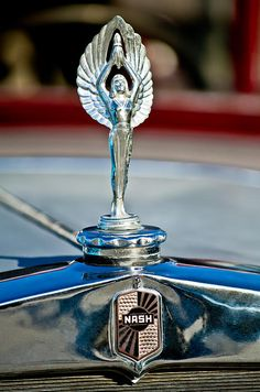 1928 Nash Coupe Hood Ornament by Jill Reger
