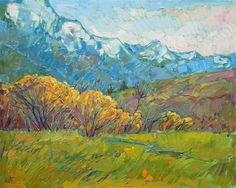Canada Green - Contemporary Impressionism | Landscape Oil Paintings for Sale by Erin Hanson