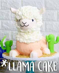 How To Make LLama #Cake