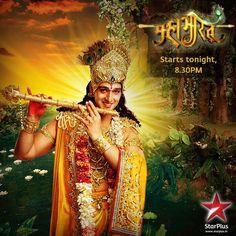 Lord Krishna's bansuri has a peacock feather like design that symbolizes Krishna's soul. #Mahabharat