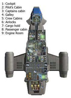 Hornet Deckplan Ki Ryn style by mcjomar on deviantART