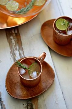 Serve up an Epic holiday with Peach Rosemary Mule Punch!