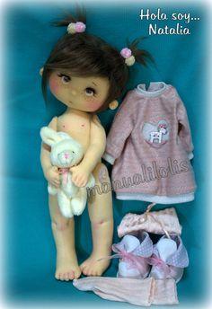 kit disponíble en mi tienda online manualilolis.com Disney Silhouettes, Asuna, Onesies, Dolls, Country, Wallet, Tejido, Baby Dolls, Craft