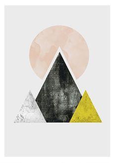 By Wallzilla https://www.etsy.com/listing/223742661/circles-art-abstract-art-geometric-print
