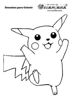 pokemon coloring pages: nidoran coloring sheet - pokemon   party ... - Coloring Pages Pokemon Pikachu