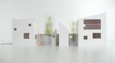 House by studio Velocity - model Arch Model, Japanese House, Interior Design Studio, Japan Fashion, Scale Models, Architecture Models, House Design, Concept, Study