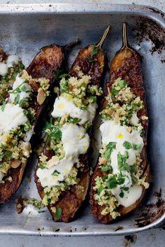 #delicious #slowfood Chermoula Eggplants