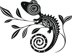 Hawaiian tattoos are a type of tribal tattoos, known for their beautiful designs and symbolism. They have distinct designs and meanings associated with them, thus making them unique from other Polynesian tattoo designs. Gecko Tattoo, Lizard Tattoo, Hawaiianisches Tattoo, Art Premier, Hawaiian Tattoo, Tribal Art, Rock Art, Doodle Art, Tribal Tattoos