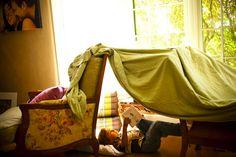 Build a blanket fort.