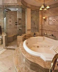 Dream bathroom designs traditional bathroom design pictures remodel decor and ideas page 5 decorating in house . Luxury Master Bathrooms, Dream Bathrooms, Dream Rooms, Beautiful Bathrooms, Luxurious Bathrooms, Master Baths, Romantic Bathrooms, Fancy Bathrooms, Mansion Bathrooms