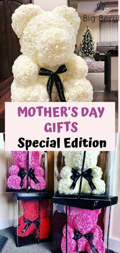Looking for the perfect Mother's Day gift to make your Mother feel special? This forever rose bear is the answer to your perfect Mother's Day gift quest. Mothers Day Baskets, Mother's Day Gift Baskets, Mothers Day Gifts From Daughter, Unique Mothers Day Gifts, Happy Mother S Day, Mothers Day Crafts, Mother Day Gifts, Mothers Day Post, Diy Gifts For Kids
